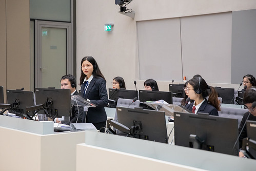 Central South University wins ICC Moot Court Competition, Chinese version