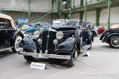 Horch 830 BL Convertible - 1939