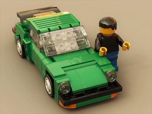 Porsche Turbo 1980 (3/4)