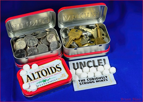 Altoids Tins - Not just for candy.