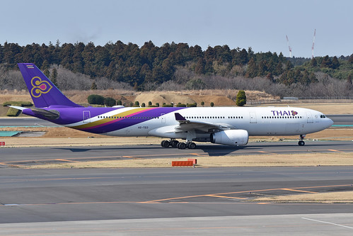 Airbus A330-343E 'HS-TEO' Thai Airways