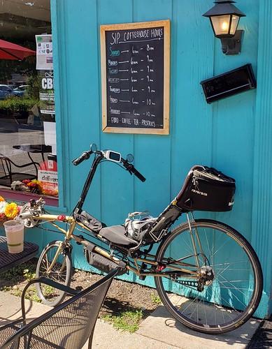 Lightning P38 recumbent bike ......