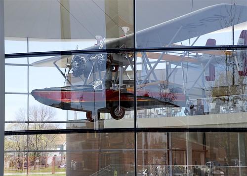 Replica Sikorsky S-38 in Fortaleza Hall