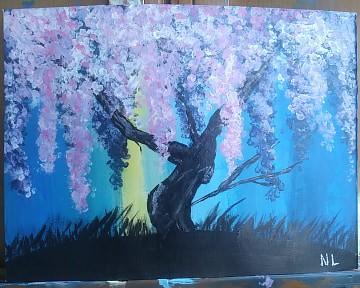 wisteria willow tree