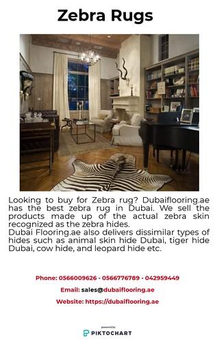 Zebra Rugs In Dubai