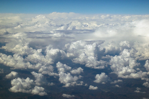 Nepal - Kathmandu - Above the clouds