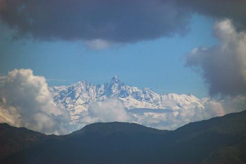Nepal - Kathmandu - Himalayas view 02