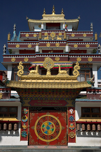 Nepal - Kathmandu - Kathesimbu Monastery 01