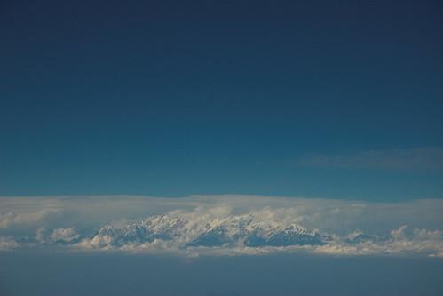 Nepal - Kathmandu - Himalayas view 01