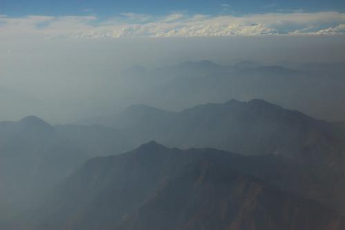 Nepal - Kathmandu - Himalayas view 03