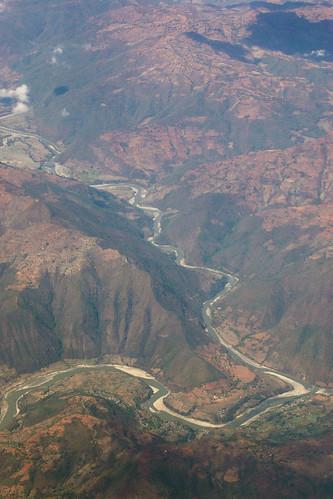 Nepal - Kathmandu - Himalayas view 04