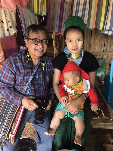 I blessed the baby with a small cash token, as is normal in SE Asia