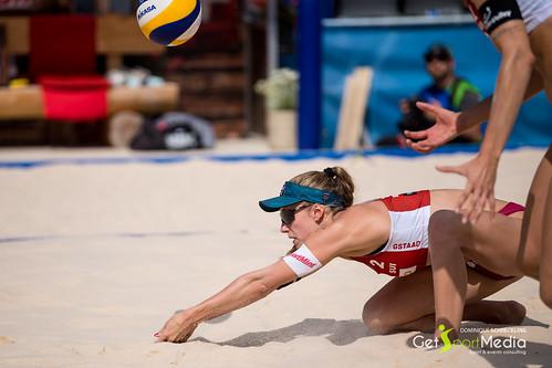 Tanja Hüberli - Nina Betschart (SUI) vs Andrea Strbova - Natalia Dubovcova (CZE)