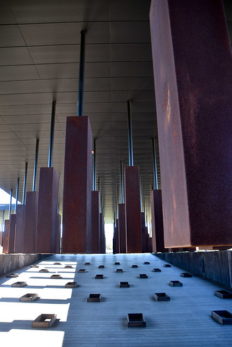 Interior -- National Memorial for Peace and Justice Montgomery (AL) March 2019