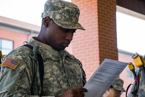 2nd Regiment Basic Camp, Individual Task Test