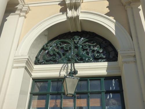 Sudbury Library - Corn Exchange - Market Hill, Sudbury - lantern