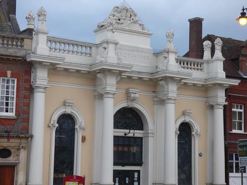 Sudbury Library - Corn Exchange - Market Hill, Sudbury