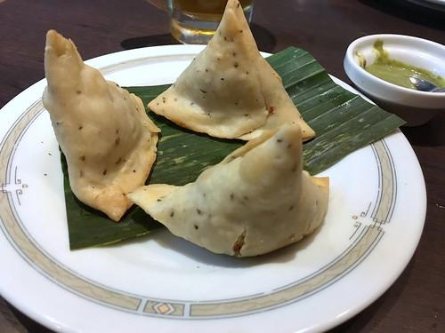 Samosa from Halima Kebab Biryani @ Ueno