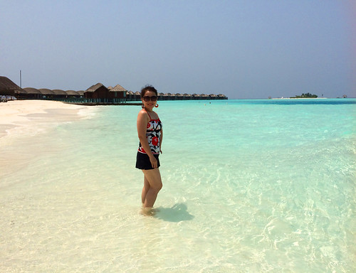 Crystal Clear Water, Snow White Sand, Delighting Blue Sky