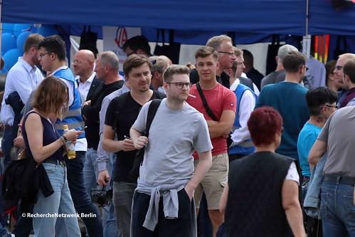 13.07.2019 Cottbus: Landtagswahlkampf-Auftakt der AfD mit Höcke, Kalbitz, Meuthen, Urban