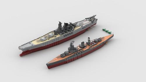 Nagato and Yamato