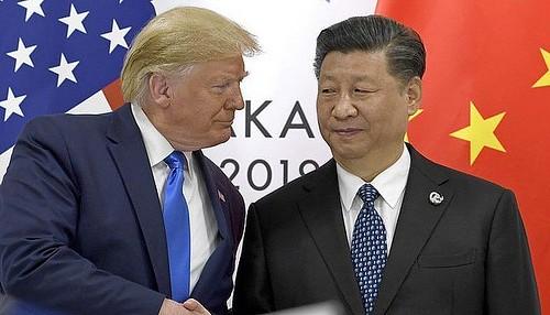 Lập trường cứng rắn đối với Bắc Kinh là một thế mạnh của ông Trump