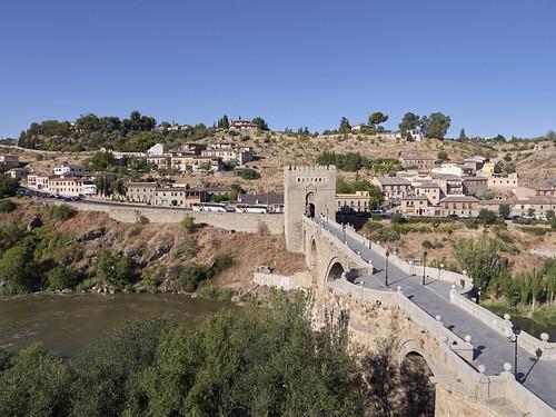 Puente San Martín, Toledo, España