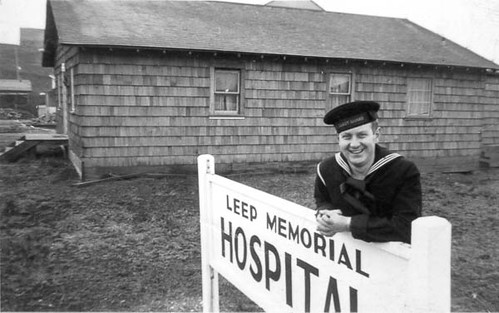 Outside the Leep Memorial Hospital