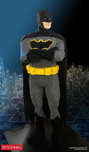 Lifesize LEGO® Brick Batman