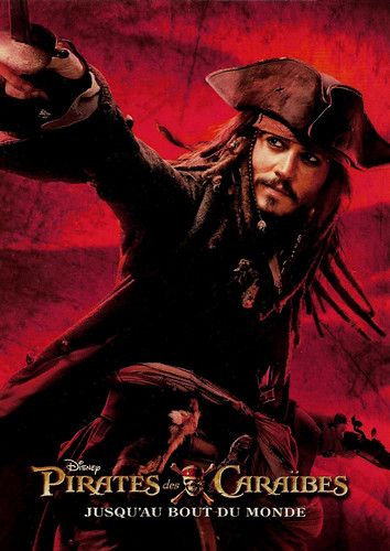 Johnny Depp in Pirates of the Caribbean - At World's End (2007)