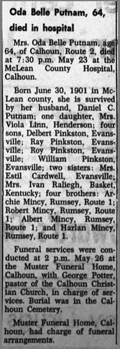 McLean County News (Calhoun, Kentucky) ·  3 Jun 1965, Thu ·  Page 6