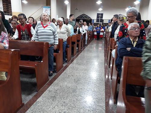 Missa De Envio da Pastoral da Sobriedade, na comunidade Nossa Senhora da Conceição