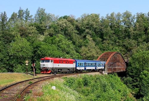 749.107 ČD / Rataje nad Sázavou (CZ)