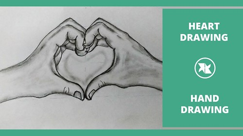 How to Draw Holding Hands Step by Step