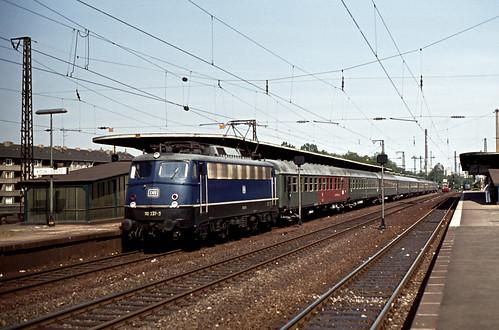 DB 110 337 Bf Köln-Deutz 01.06.1977
