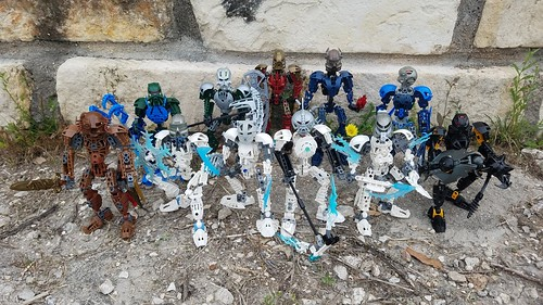Bionicle Lore M.O.C.s - Full Toa Mangai Team