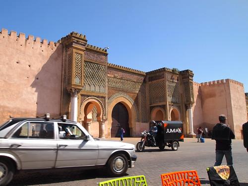 Bab Mansour, Meknes, Morocco