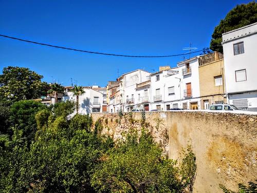 Castillo de Buñol, una de las pocas fortalezas que se mantienen habitados