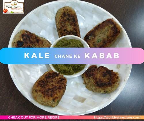 Kale Chane Ke Kabab