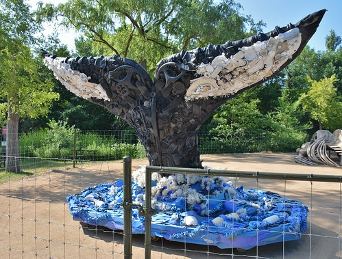 Grace the Humpback Whale, Washed Ashore-Art to Save the Sea, Toronto Zoo, Toronto, ON