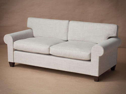 1/4 scale Doll Couch with Down Cushions