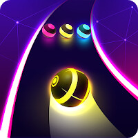 Dancing Road: Colour Ball Run! Mod Apk [Unlimited Lives / Gold / Diamonds] v1.3.8 Android