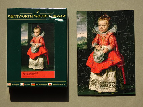 Wentworth 75pc Portrait of a Girl Cornelis de Vos DSC07446