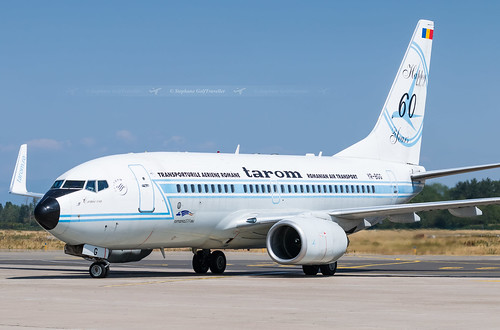 SXB ➡️ YR-BGG Boeing 737-700 Tarom