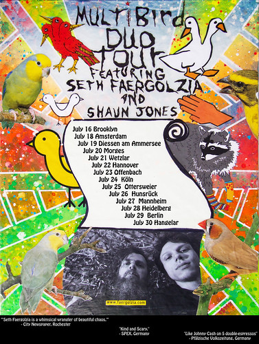 Multibird - Duo Tour - featuring Seth Faergolzia of Dufus and Shaun Jones