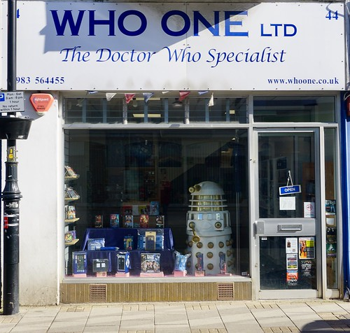The Doctor Who Store Ryde Isle of Wight