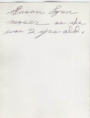 Moser, Susan Lynn - age 2 - 1 - b