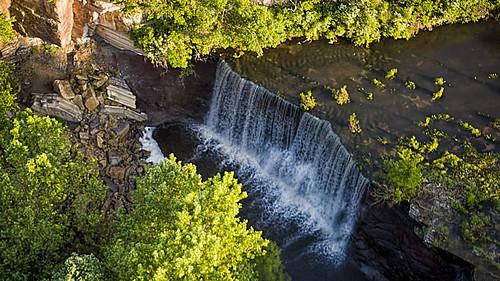 Kazi over the falls
