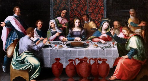 IMG_0061EG Samson Brulley 1560-1621 Besançon  La Nativité du chanoine Pourtier 1620 Scènes de la vie de la Vierge The Nativity of Canon Pourtier   Scenes from the life of the Virgin Besançon Musée des Beaux Arts