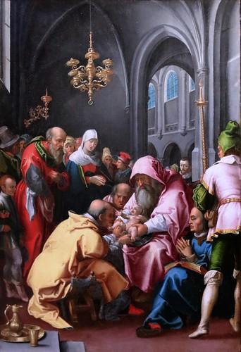 IMG_0061ED Samson Brulley 1560-1621 Besançon  La Nativité du chanoine Pourtier 1620 Scènes de la vie de la Vierge The Nativity of Canon Pourtier   Scenes from the life of the Virgin Besançon Musée des Beaux Arts